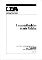Transparent Insulation Material Modeling